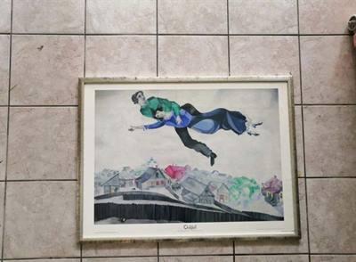 Quadro Chagall + Cornice