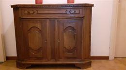 Mobile in legno stile antico + comodino