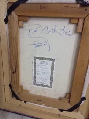 Dipinto 30x40 certificato