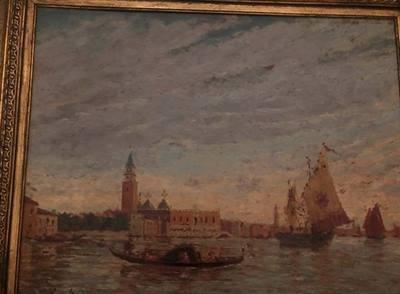 Antico dipinto di Henry Gerard 1860 - 1925