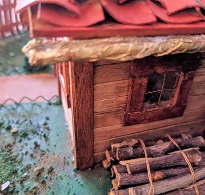 Casetta costruita a mano