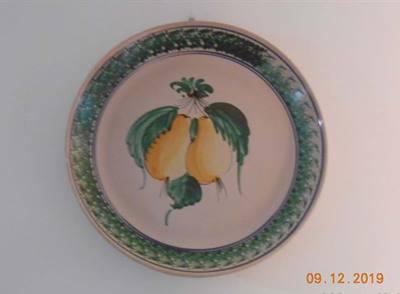 Piatto Tondo Ceramica Antica