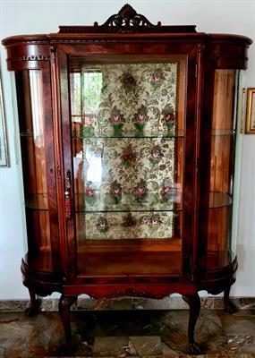 Mobilio antico inglese intera sala anche pezzi singoli.