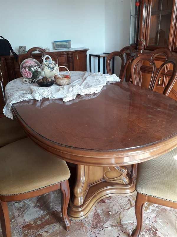 Soggiorno in legno massello - Mobili Antichi a Latina - Lazio