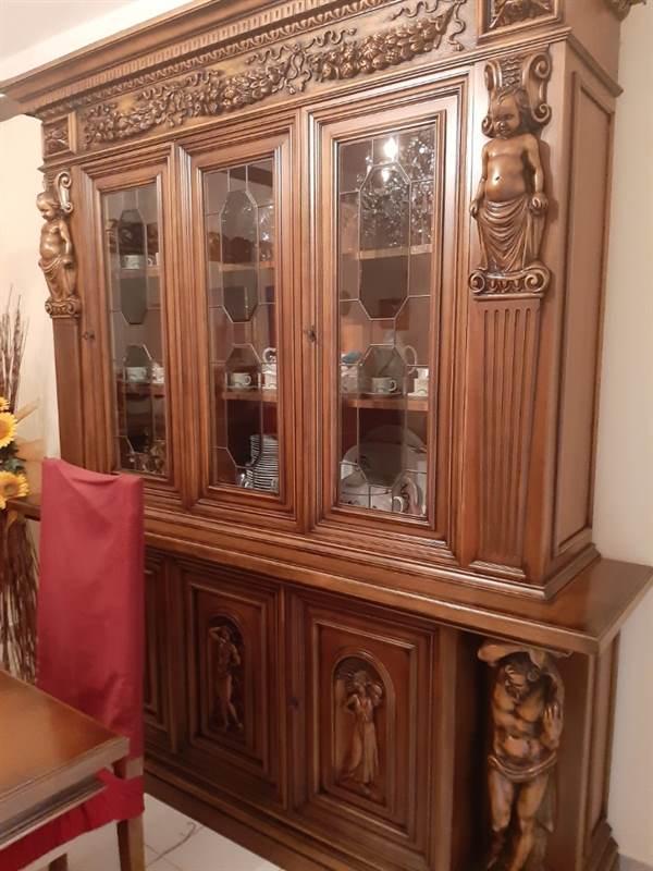 Sala da pranzo artigianale in legno massello, tipologia di ...