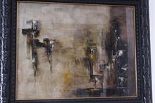 Dipinto Modernariato Jackson j. 1965. arte contemporanea