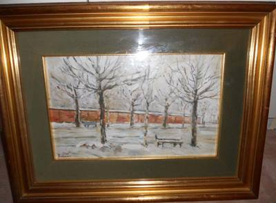 Dipinto nevicata