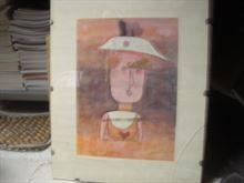 Poster Klee Paul Ritratto della Signora P…….