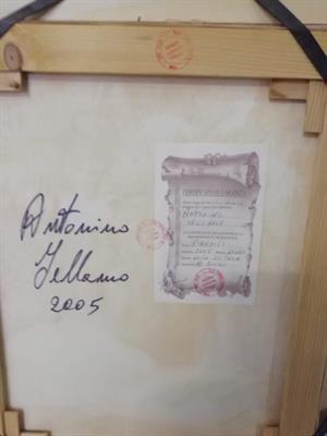 Dipinti - Dipinto di Antonino iellamo certificato