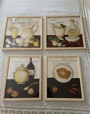 Set Quadri da Cucina