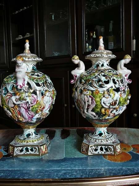 Arte e antiquariato quadri mobili e libri antichi e altro for Vasi capodimonte