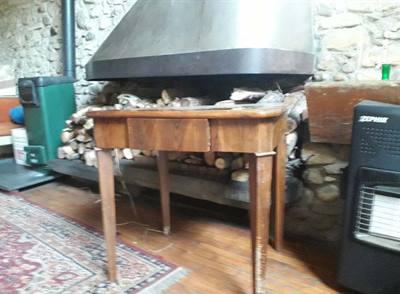 Tavolino antico intarziato
