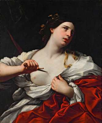 Suicidio di Lucrezia romana