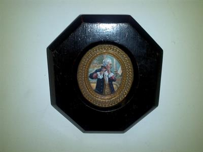 4 antiche miniature