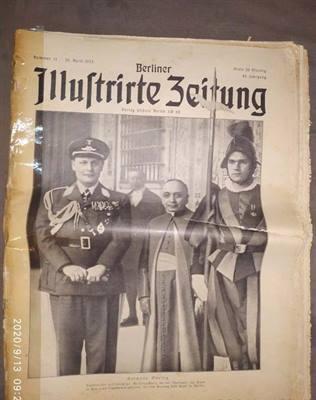 3 giornali cimeli storici