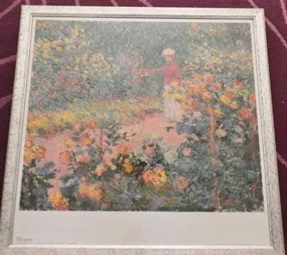 Quadro Monet + Cornice