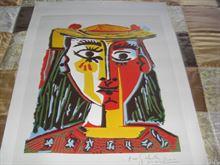 Poster Picasso Tète d'une femme 1953 circa