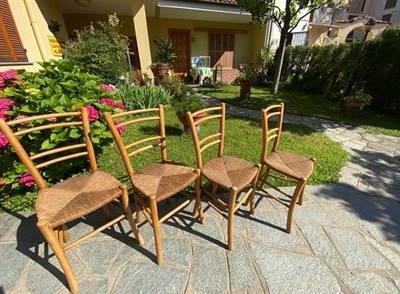 Set 4 sedie