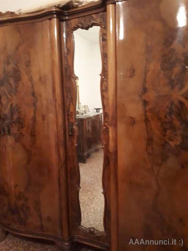 Camera Letto Matrimoniale Stile Chippendale.Camera Completa Stile Chippendale Primi 900 Varese Lombardia