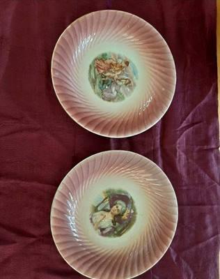 Piatti ceramica - s. c. lombarda - elefantino