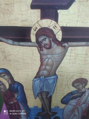 2 quadretti religiosi artigianato Sardo vintage