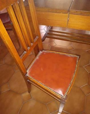 Vendita - tavolo allungabile con sei sedie +