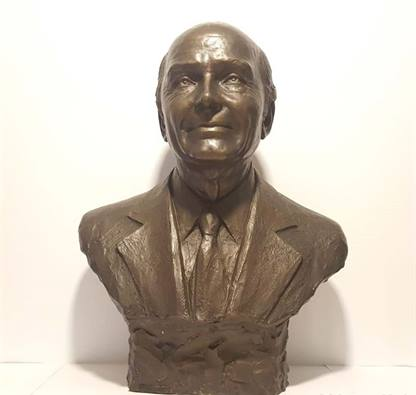 Scultura, Busto in bronzo di Gabriele D'annunzio