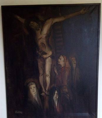 Cristo in croce V. Ghidini.