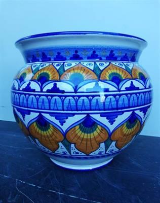 Vaso della pregiata ceramica faentina firmato LIVERANI