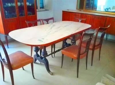 Sala da pranzo anni '50