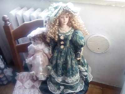 Bambole da Collezione in Ceramica