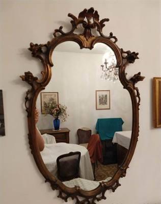 Specchio in legno, inizio '900